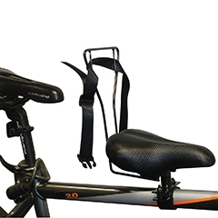 Bicycle Crossbar Child Seat Universal Fit