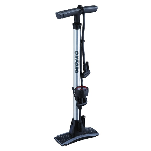 OXFORD Alloy Track Pump With Gauge