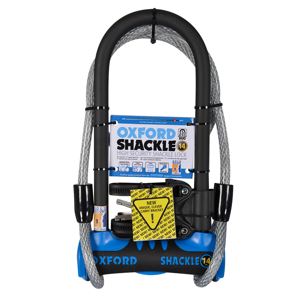 OXFORD SHACKLE 14 U Duo Lock