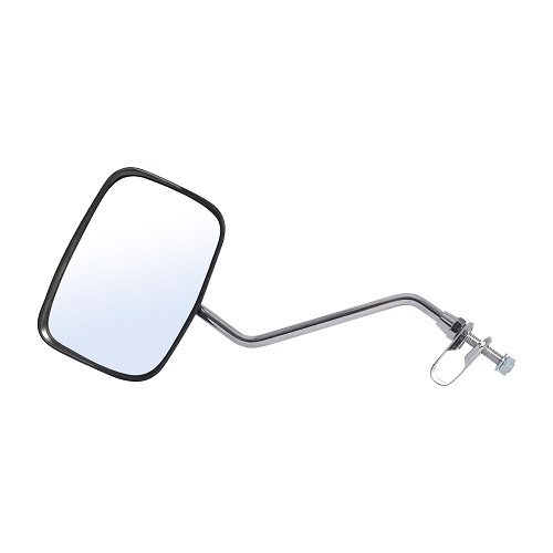 Oxford Deluxe Oblong Fully Adjustable Bike Mirror with Rain Shield