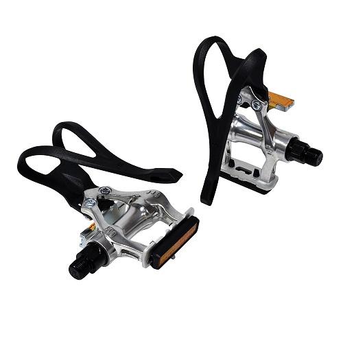 Oxford Alloy Pedals Plus Toe Straps
