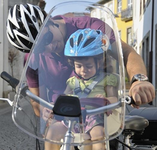Polisport Bicycle Windscreen Handlebar Mounted